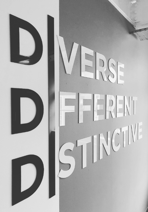 Diverse Different Distinctive