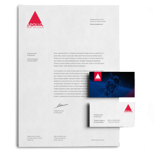 100 Business Cards & 200 Letterheads